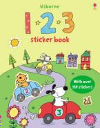 USBORNE : 123 STICKER BOOK (+ STICKERS) Paperback