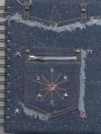 Τζιν τσέπη με σπιράλ