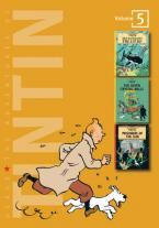 THE ADVENTURES OF TINTIN 5: RED RACKHAM'S TREASURE, THE SEVEN CHRYSTAL BALLS, PRISONERS OF THE SUN H