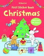 USBORNE : FIRST STICKER BOOK CHRISTMAS (+ STICKERS) Paperback