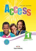Access 1: Teacher's Book