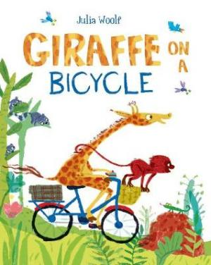 GIRAFFE ON A BICYCLE Paperback