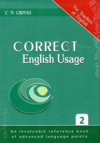 CORRECT ENGLISH USAGE
