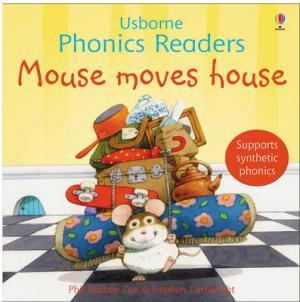 USBORNE PHONIC READERS : MOUSE MOVES HOUSE Paperback
