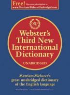 WEBSTER'S THIRD NEW INTERNATIONAL DICTIONARY HC
