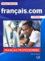FRANCAIS.COM DEBUTANT METHODE (+ DVD-ROM) 2ND ED