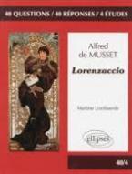 LORENZACCIO ALFRED DE MUSSET 40/4  POCHE