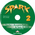 SPARK 2 TEACHER'S BOOK  RESOURCE PACK & TESTS CD-ROM