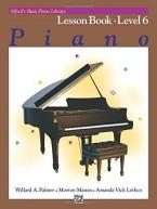 ALFREDS BASIC PIANO COURSE LESSON BOOK 6  Paperback