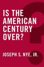 IS THE MAERICAN CENTURY OVER ? Paperback