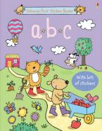 USBORNE : ABC STICKER BOOK Paperback