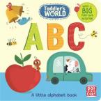 ABC: A LITLE ALPHABET BOARD BOOK WITH A FOLD OUT SURPRISE (TODDLER'S WORLD)  HC BBK