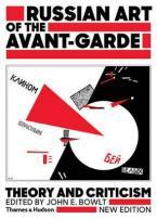 RUSSIAN ART OF THE AVANT-GARDE  Paperback B