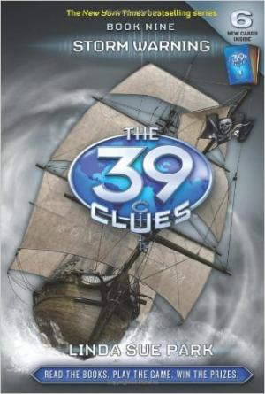 THE 39 CLUES 9: STORM WARNING HC