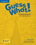 GUESS WHAT! 4 ACTIVITY BOOK (+ ONLINE RESOURCES)