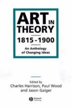 ART IN THEORY Paperback