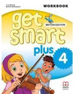GET SMART PLUS 4 Workbook (+ CD) BRITISH EDITION