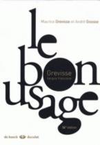 LE BON USAGE 16TH ED HC CLOTH