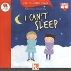 Red Series I CAN'T SLEEP- READER + AUDIO CD + E-ZONE NEW EDITION (RED SERIES 3)