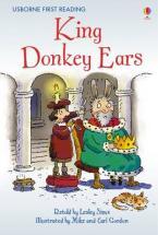 USBORNE FIRST READING 2: KING DONKEY EARS HC