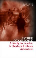COLLINS CLASSICS : A STUDY IN SCARLET : A SHERLOCK HOLMES ADVENTURE Paperback