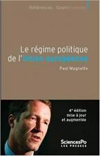 LE REGIME POLITIQUE DE L'UNION EUROPEENNE 4ED - 4E EDITION, ENTIEREMENT REVUE ET CORRIGEE