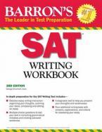 BARRON'S SAT WRITING WORKBOOK 3RD ED
