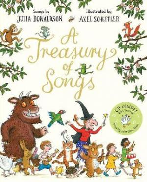 A TREASURY OF SONGS (+CD) Paperback