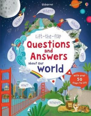 LIFT THE FLAP FIRST QUESTIONS AND ANSWERS : ABOU THE WORLD Paperback