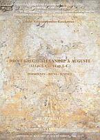 Droit grec d'Alexandre à Auguste (323 av. J.-C. - 14 ap. J.-C.)