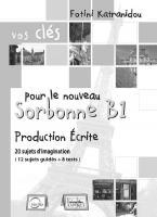 VOS CLES SORBONNE B1 PRODUCTION ECRITE