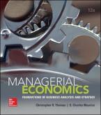 MANAGERIAL ECONOMICS 12TH ED HC