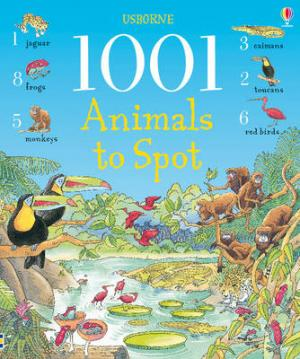 USBORNE : 1001 ANIMALS TO SPOT HC