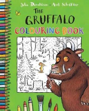 THE GRUFFALO COLOURING BOOK Paperback