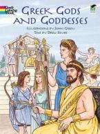GREEK GODS AND GODDESSES (COLOURING BOOK) Paperback