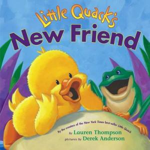 LITTLE QUACK'S NEW FRIEND Paperback