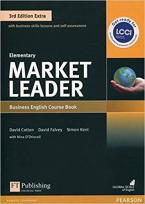 MARKET LEADER EXTRA ELEMENTARY Student's Book (+ DVD-ROM) 3RD ED