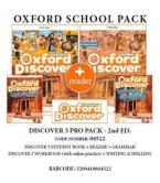 OXFORD DISCOVER 3 2ND PRO PACK (Student's Book+ Workbook (WITH ONLINE) + GRAMMAR+ WRITING & SPELLING + READER) - 04522