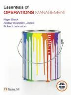 ESSENTIALS OF OPERATION MANAGEMENT