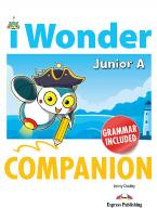 iWONDER JUNIOR A COMPANION & GRAMMAR
