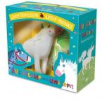 SUGARLAMP UNICORN BOOK AND TOY GIFT SET HC