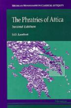 PHRATRIES OF ATTICA-2ND REV ED  Paperback