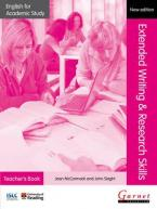 English for Academic Study: Extended Writing & Research Skills Teacher's Book - Edition 2 Paperback (+ CD)