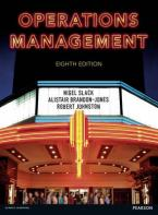 OPERATIONS MANAGEMENT 8TH ED