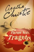 THREE ACT TRAGEDY (POIROT)  Paperback