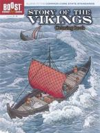 BOOST STORY OF THE VIKINGS COLOURING BOOK  HC BBK