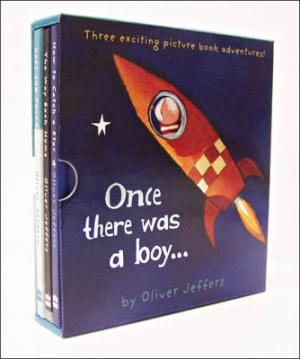 ONCE THERE WAS A BOY... (THREE EXCITING PICTURE BOOK ADVENTURES) HC BBK BOX SET