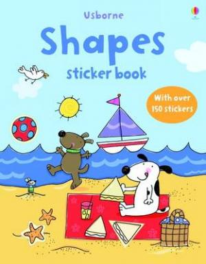 USBORNE : FIRST STICKER BOOK SHAPES (+ STICKERS) Paperback