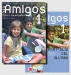 AULA AMIGOS 1 PACK ALUMNO (LIBRO + CD + PORTOFOLIO)