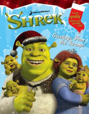 ACTIVITY BOOK SHREK: GREETINGS FROM THE SWAMP Paperback